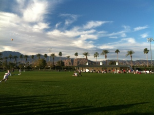 Sandstorm Lacrosse Tournament at Empire Polo Grounds in Indo, CA